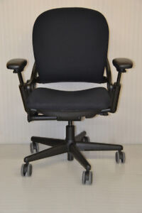 Steelcase Leap chairs , black , used excellent condition $299.99