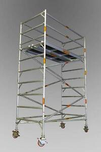 ALUMINIUM MOBILE SCAFFOLD - 1.3m x 2.0m x 3.0m Platform Height Revesby Bankstown Area Preview