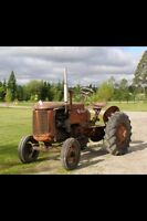 1948 case tractor.
