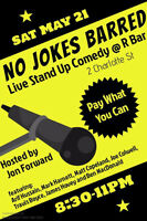 No Jokes Barred @ R Bar
