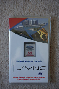 FORD EDGE A4 US/CANADA MAPS