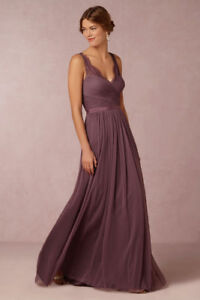 BHLDN Fleur Bridesmaid Dress - Antique Orchid - Size 0