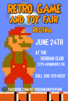 RETRO GAME AND TOY FAIR! THIS SUNDAY JUNE 24