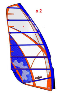 Sailworks Retro 6.0 and 6.5 Windsurfing Sails Wanted