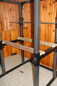 Parabody Squat Rack + Bench + Olympic bar + 280lbs Weight - MINT West Island Greater Montréal image 6