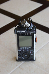 Tascam DR-44WL 4-track handheld recorder with Wi-Fi