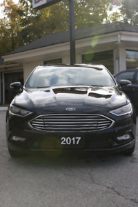 2017 Ford Fusion TITANIUM | LOW KM | CERTIFIED | WARRANTY|