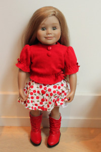 "MapleLea 18"" doll ""Leonie"" with clothes"