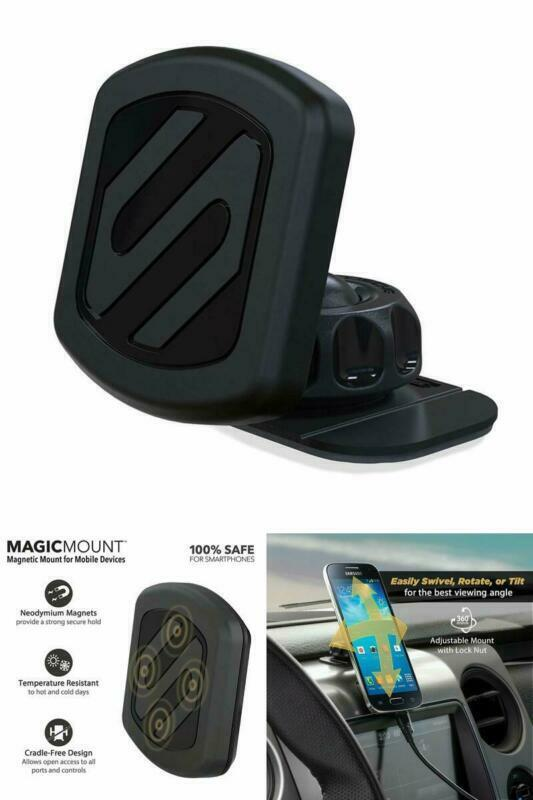 Scosche Magic Mount Pro Car Cell Phone Tablet Gps Cradle Mob