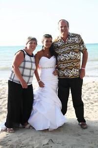 Magnifique robe de mariée gr. 10