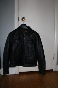 Women's Leather Motorcycle Jacket size medium perfect condition