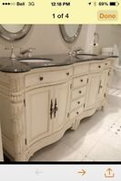 """Looking for high end 60-72"""" double vanity"""