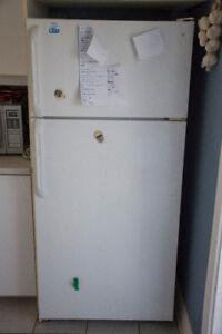 Réfrigérateur défectueux