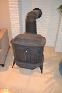 Vigilant cast iron wood stove