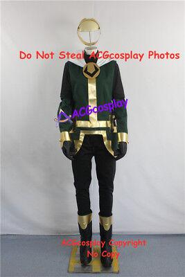 Kid Loki Cosplay Costume with headwear and pvc made emblem prop ACGcosplay - Children's Loki Costume