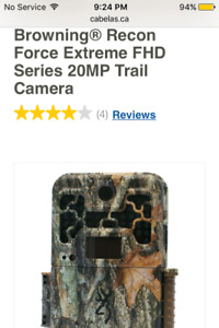Browning camo trail camera paid $340 asking $150 firm $$$$$$$$$$