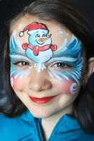 Holiday/Christmas Party Children's Face Painter!