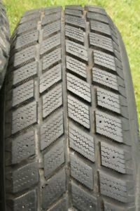 Hankook winter tires for sale, 205 75 15