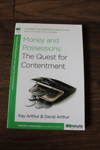 Money and Possessions: The Quest for Contentment