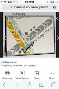 Stampin up arrows