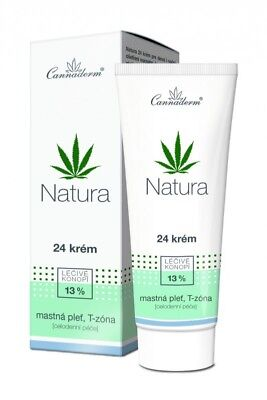 Cannaderm NATURA Bio Gesichtscreme mit Hanföl für trockene und gereizte Haut