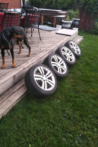HHR SS rims and tires
