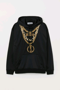 Moschino & H&M Hooded top with applique