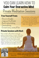 You can learn to calm your overactive mind through meditation.