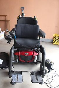 Electric motorized wheelchair 2 years old