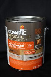 Teinture extérieure - Resurfaceur et scellant 2 en 1 - OLYMPIC