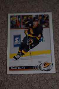 Hockey Card - Adrien Plavsic of  VANCOUVER CANUCKS