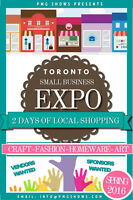 Toronto Small Business Expo - Vendors Wanted