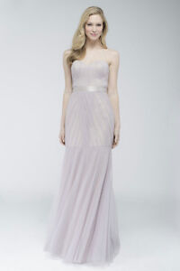 Wtoo 752 Fit and Flare Bridesmaid Gown