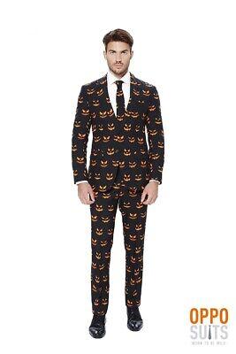 k O Halloween Anzug Slimline Premium 3-teilig EU SIZES (Opposuit Halloween)