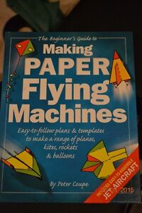 Making Paper flying machines