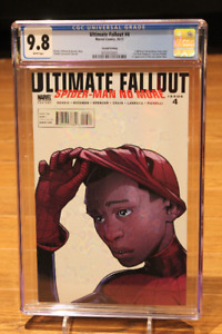 Ultimate Fallout #4 2nd Print First Miles Morales App CGC 9.8