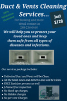 Duct And Vents Cleaning Services In Just $120