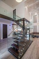 Interior Stair and Railing installations