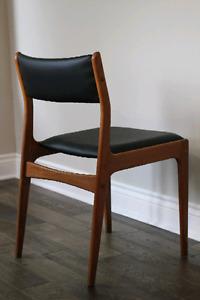 Danish Designer Teak Dining Chairs