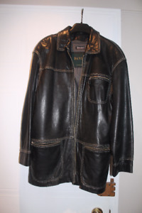 Leather Jacket with liner