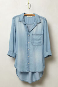 Cloth & Stone Amabel Chambray Shirt from Anthropologie