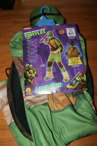 TMNT Leonardo costume (size 5-7years)