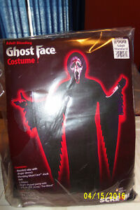 Ghost Face Costume Adult Standard Size