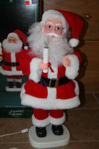 Christmas- Vintage Animated Santa-2 ft High