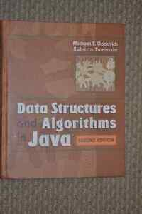 Data Structures and Algorithms in Java Kitchener / Waterloo Kitchener Area image 1