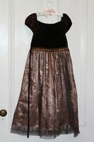 Rare Editions Copper Bronze Christmas Holiday dress gown 8 City of Halifax Halifax Preview