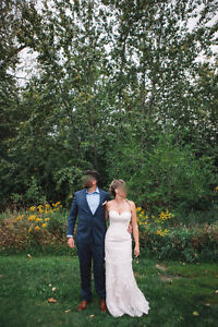 Private Collection Blush Wedding Gown Sale $450.00 OBO - Size 8