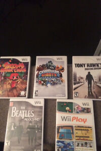 24 WII games for sale