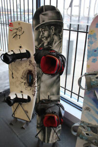 2013 Burton Hate 152 Snowboard w/binding and boots