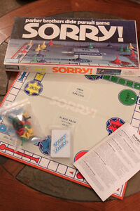 Vintage Sorry board game-1972-complete, excellent condition London Ontario image 2